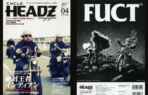 PRESS: CYCLE HEADZ X FUCT