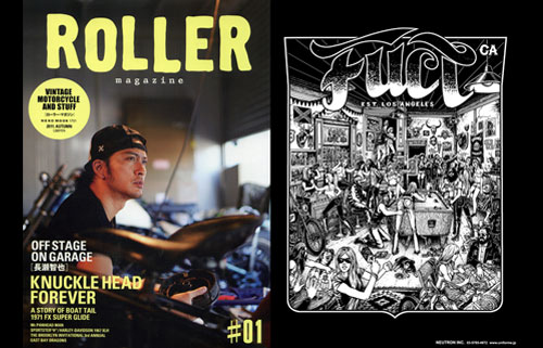 PRESS: ROLLER X FUCT