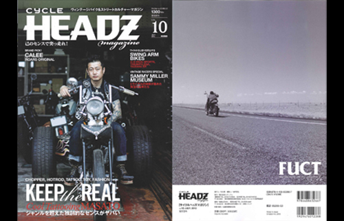 PRESS:CYCLE HEADS X FUCT