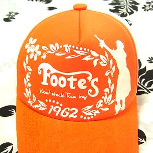 Footes ハワイアン・キャップ 柄アップ