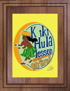 Keiki Hula Lesson