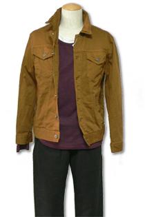 30代メンズ コレクション カラーデニムジャケット
