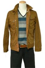 マスタードの珍しいカラーデニムジャケットです!カジュアルにどうぞ!