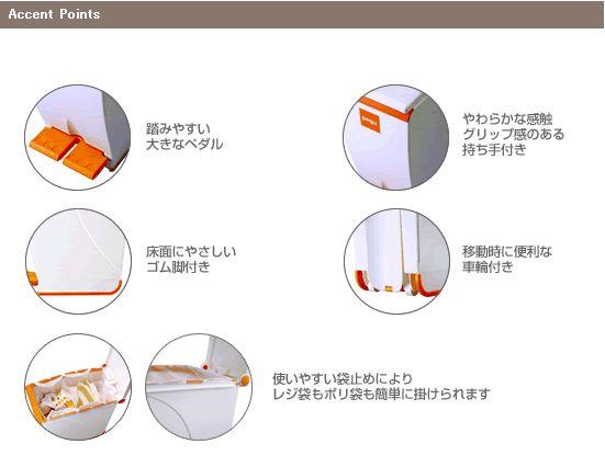 ペグ ペダルペール (ゴミ箱)3