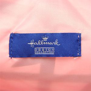Hallmark ホールマーク リボン柄 ショッピングエコバッグ HB8A-P500 ピンク