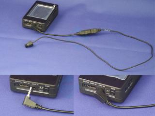 MO-PV変換ケーブル接続例