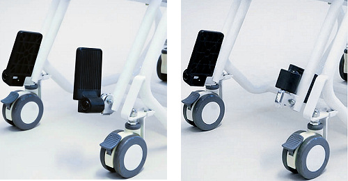 椅子型体重計 チェアスケール フットサポートについて