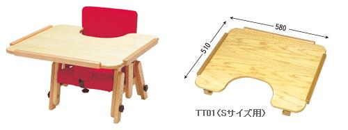 オプション:テーブル