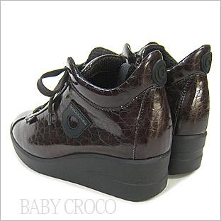 ルコライン靴(アージレ) ウォーキングシューズRUCO LINE靴ベビークロコ NO.112BR