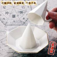 盛り塩 磁器(美濃焼) 八角盛塩セット