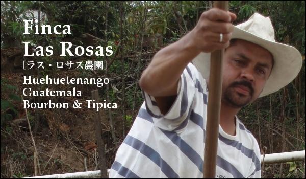 ラス・ロサス農園 グアテマラ