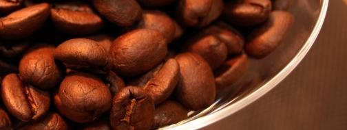 見た目も美しくおいしそうなコーヒー豆