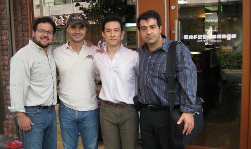 深沢本店に訪れたグアテマラの農園主たち