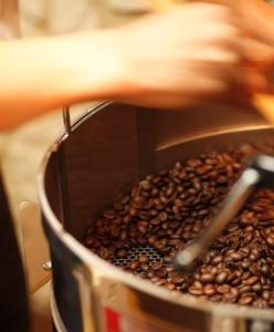 ディードリッヒで焙煎したコーヒー豆