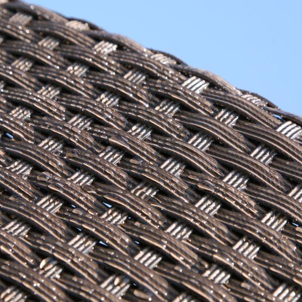 水をはじく人工ラタン繊維