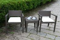 ラタンガーデンテーブルセット