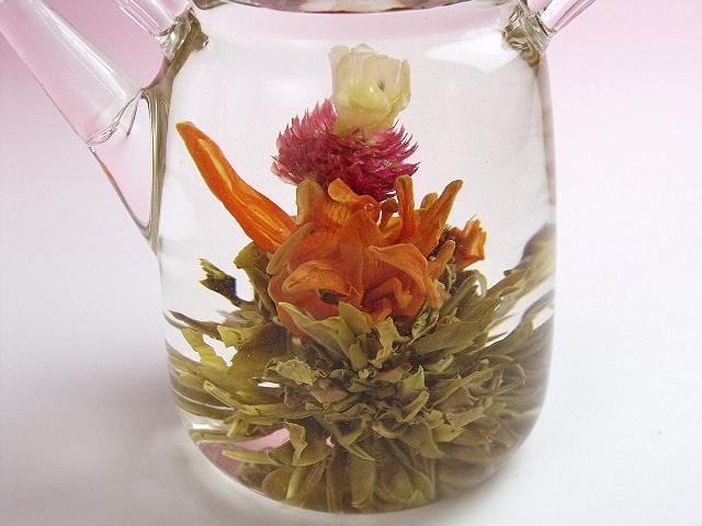 工芸茶-愛心奉献