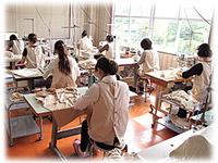 日本製オーガニックコットンの縫製