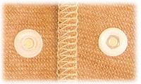 ベビー服のボタン