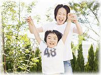 柔軟剤が不要のイメージ(家族写真)